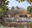Một góc của đền Nguyễn Quỳnh