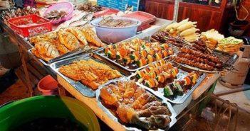 Hải sản tươi ngon tại chợ Cái Dăm