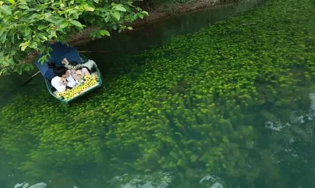 Vẻ đẹp sông nước Tràng An
