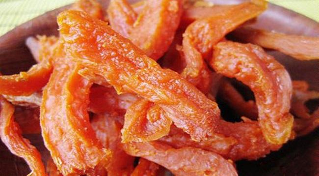 Khoai deo Quảng Bình, món ăn để lại ấn tượng khó quên du khách